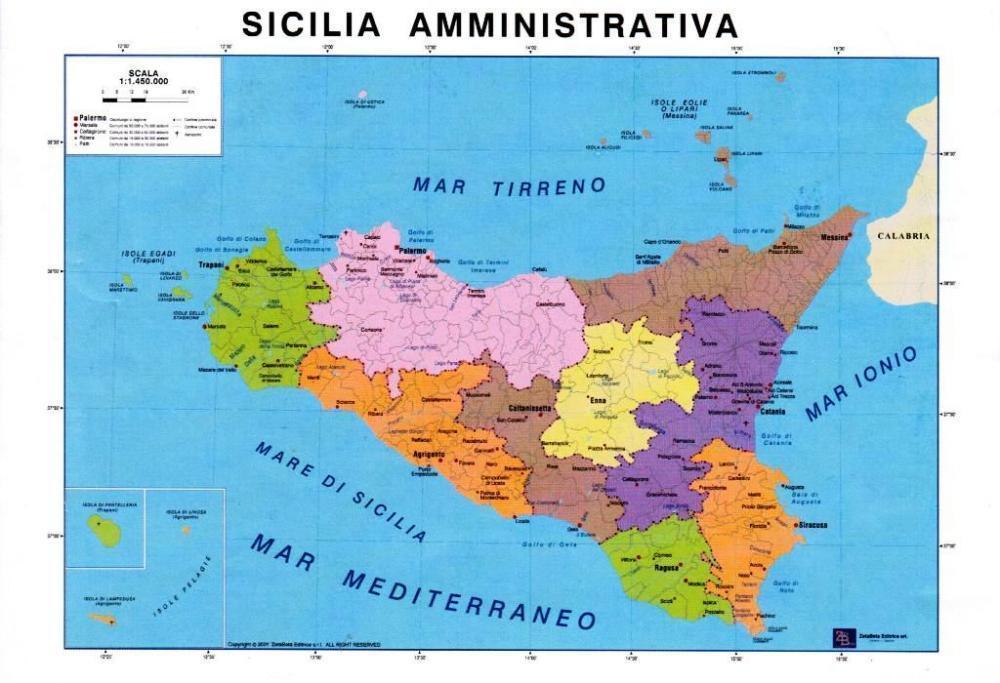 Cartina Muta Della Sicilia Da Stampare.Vendita Calda Grande Liquidazione Nuovo Economico Cartina Della