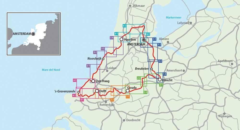 Cartina Piste Ciclabili Olanda.Olanda In Bicicletta