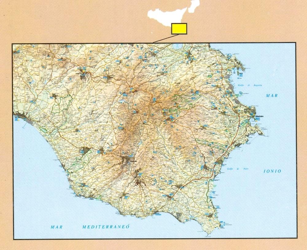 Cartina Geografica Sicilia Sud Orientale.Sicilia Sud Orientale Monti Iblei
