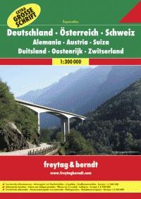 Germania Austria Svizzera Superatlas