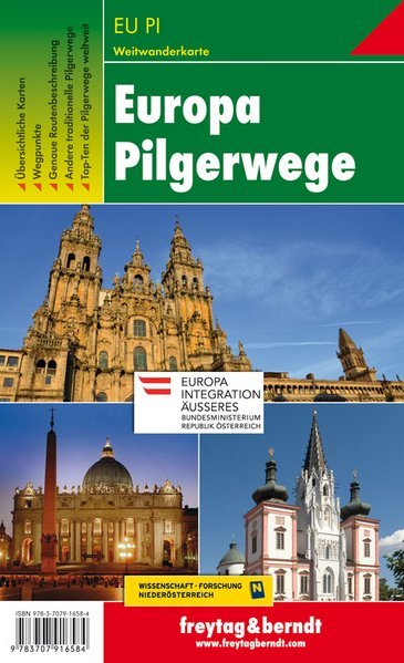 Europa Pilgerwege - Pellegrinaggi in Europa