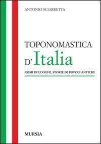 Toponomastica d'Italia