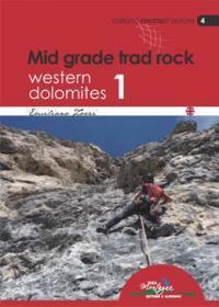 Mid grad trad rock Western Dolomites 1