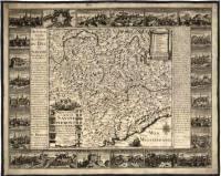 B2 - Nouvelle carte de Savoye, Piemont, Mont Ferrat