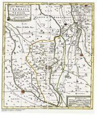 B5 - Carta nouvelle du Cremasco e la Repubblique de Venise