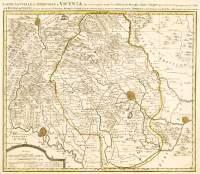 C6 - Carte nouvelle du Territoire de Vicenza ...