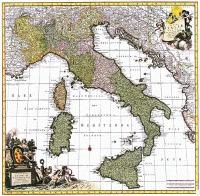 D7 - TOTIUS ITALIAE TABULA PER NICOLAUM VISSCHER