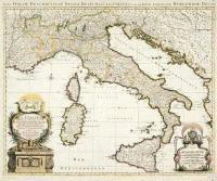 E9 - Nova Italiae Descriptio, in Regna, Respublicas et ...