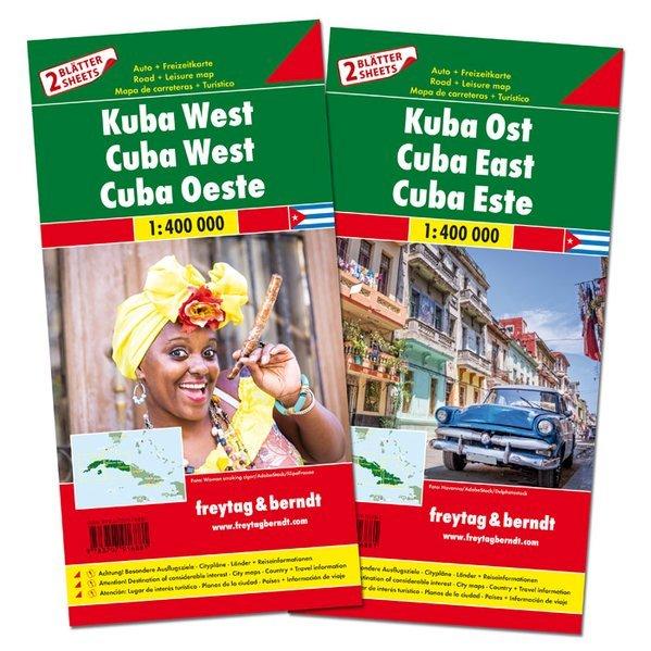 Cuba est + ovest (2 carte)