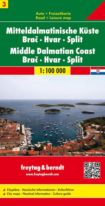 Costa Dalmata Brac, Hvar, Split,