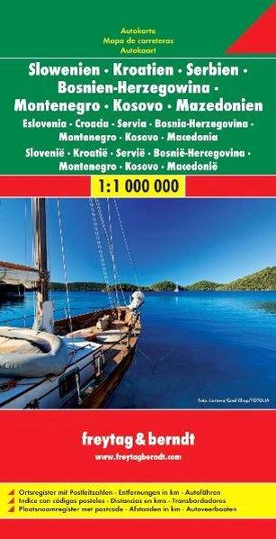Slovenia Croazia Serbia Bosnia Erzegovina Montenegro Macedonia