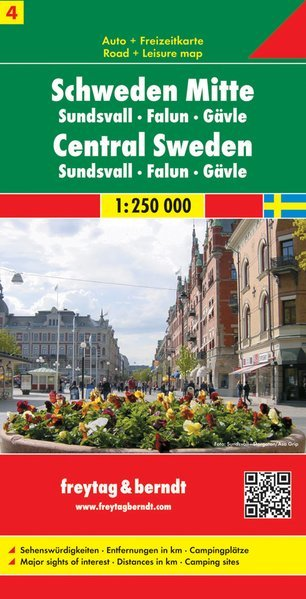 Svezia 4 Centro Sundsvall Falun Gavle