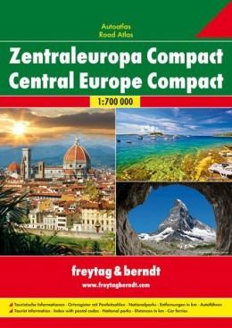 Europa Centrale Compact Autoatlas