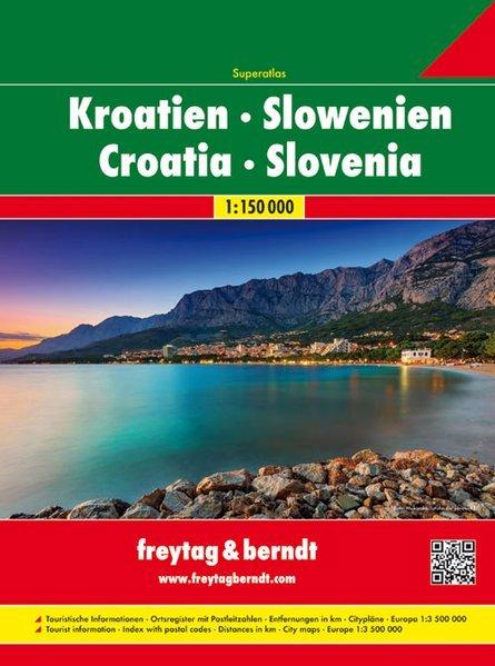 Croazia Slovenia (Altante stradale)