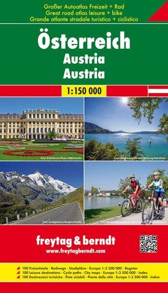 Austria atlante stradale