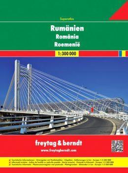 Romania atlante stradale