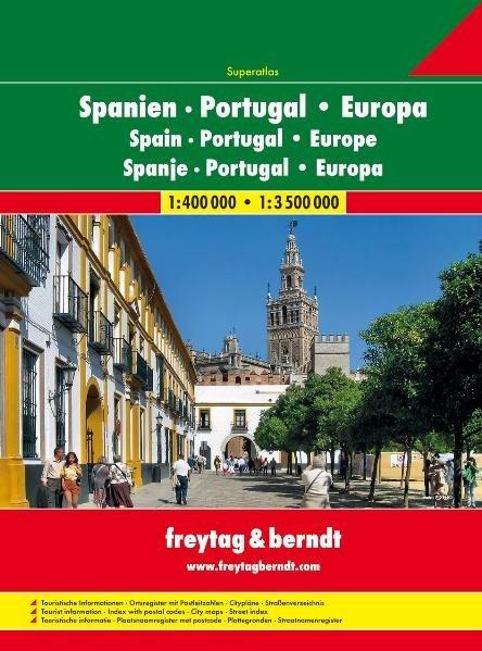 Spagna e Portogallo + Europa (Atlante stradale)