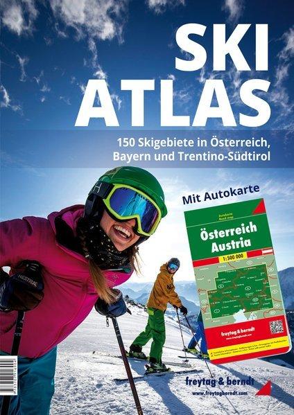 Ski-Atlas Österreich, Bayern, Trentino-Südtirol