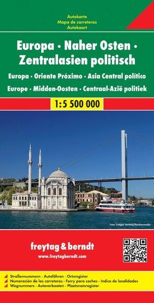 Europa Medio Oriente Asia Centrale