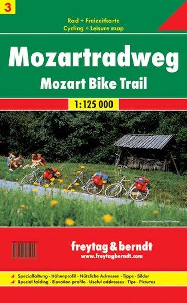 Ciclovia Mozart / Mozartradweg / Mozart bike trail -