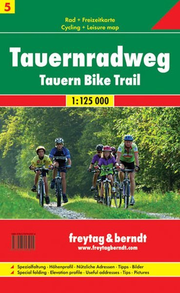 RK 5 Tauernradweg - Tauern Bike Trail - Pista ciclabile dei Tauri