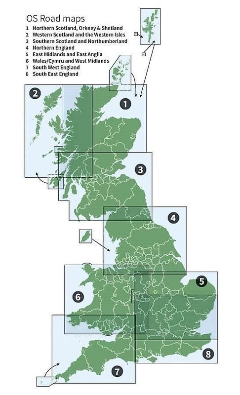 Gran Bretagna (set di 8 carte)