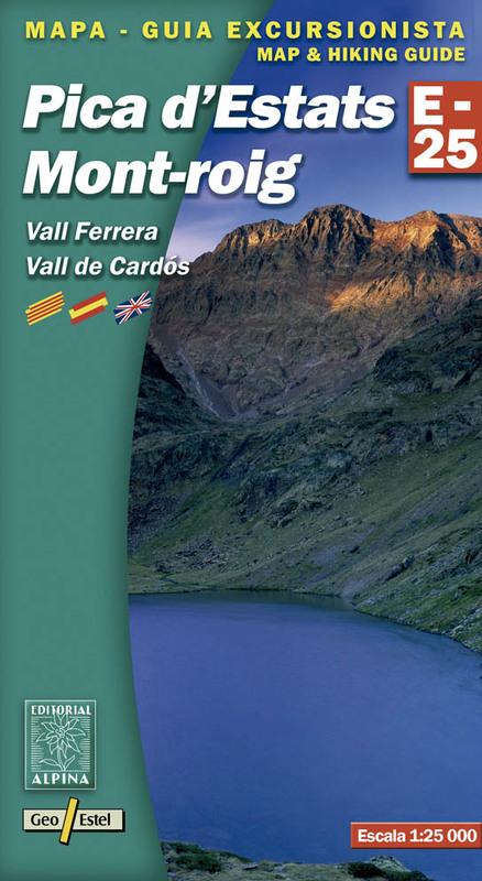Pica d'Estats Mont-Roig Vall Ferrera, Vall de Cardos