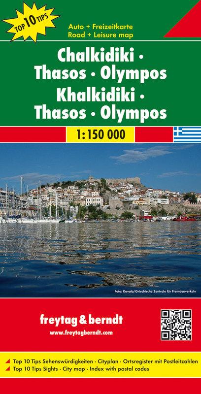 Calcidica, Thasos, Olimpo