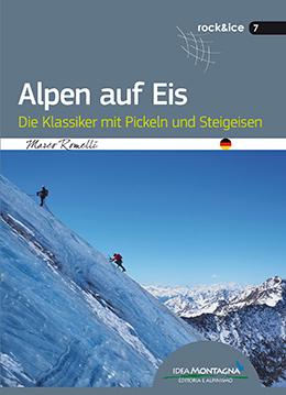 Alpen auf Eis