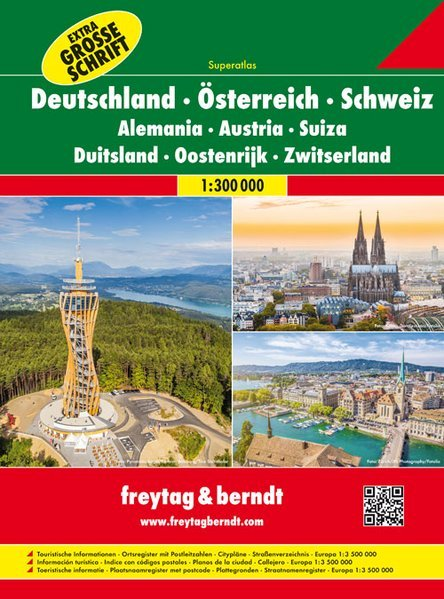 Germania Austria Svizzera -   Superatlas