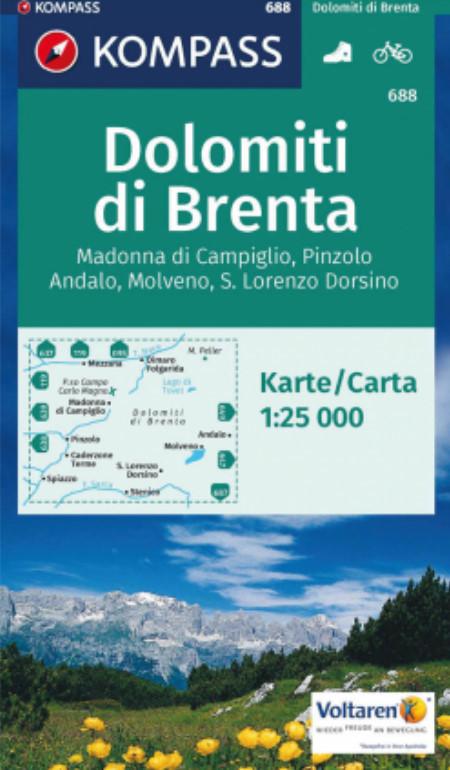 K688 Dolomiti di Brenta, Madonna di Campiglio, Andalo, Molveno