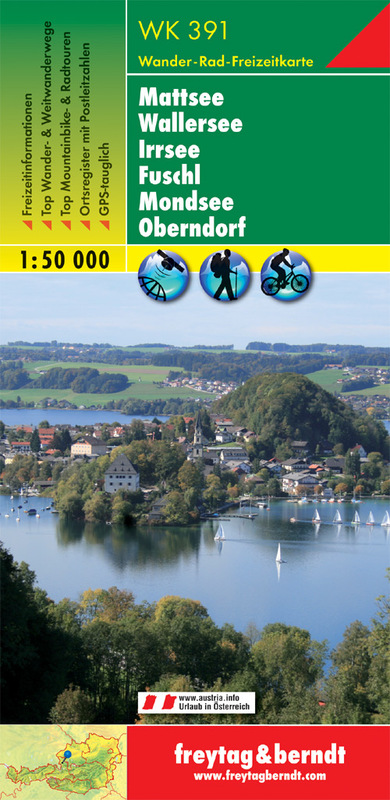 Mattsee - Wallersee - Irrsee - Fuschl - Mondsee - Oberndorf