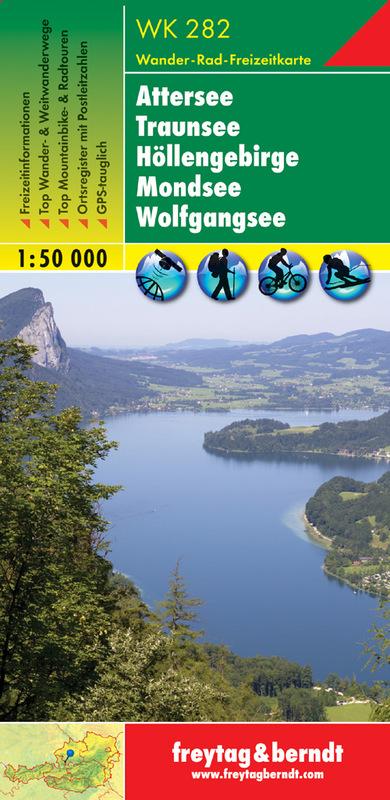 Attersee - Traunsee - Hollengebirge - Mondsee - Wolfgangsee