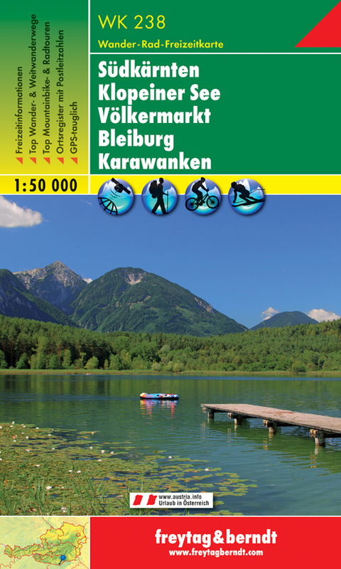 Südkärnten, Klopeiner See, Völkermarkt, Bleiburg, Karawanken