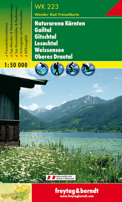 Naturarena Kärnten-Gailtal-Gitschtal-Lesachtal-Weissensee-Oberes Drautal
