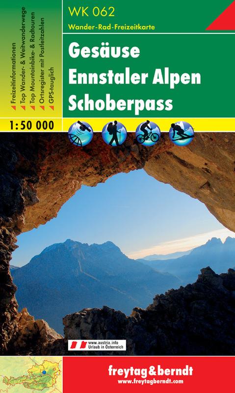 WK 062 - Gesäuse - Ennstaler Alpen - Schoberpass