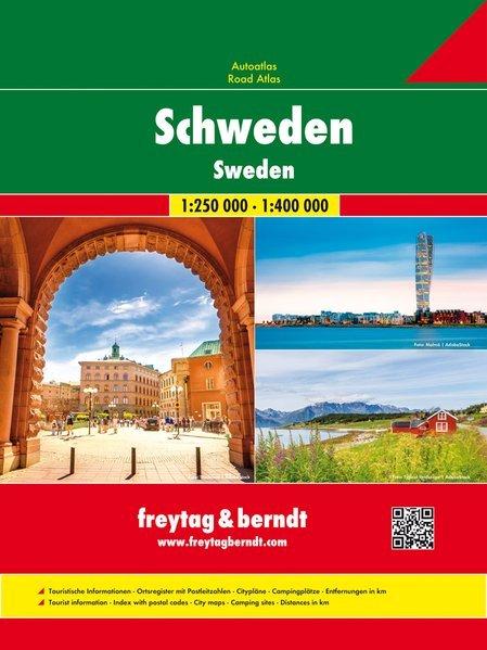 Svezia atlante stradale