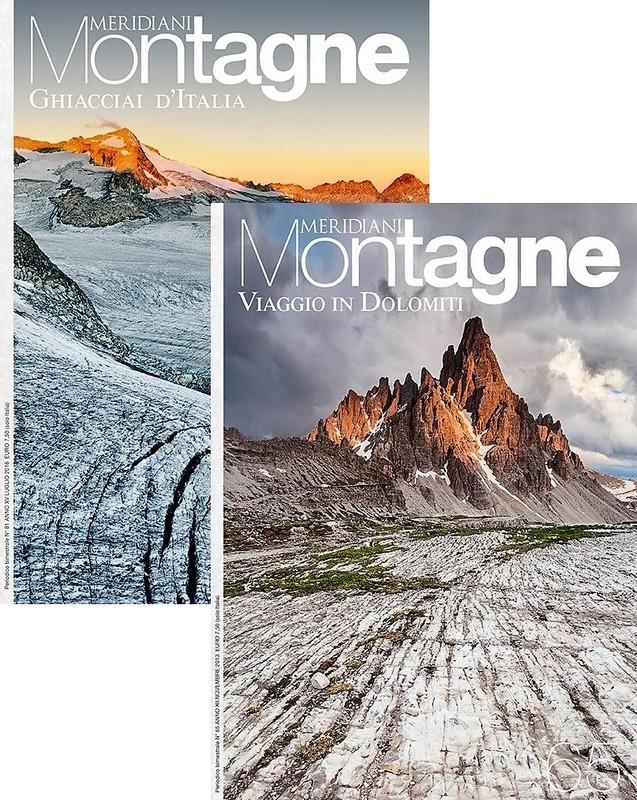 Ghiacciai d'Italia + Viaggio in Dolomiti