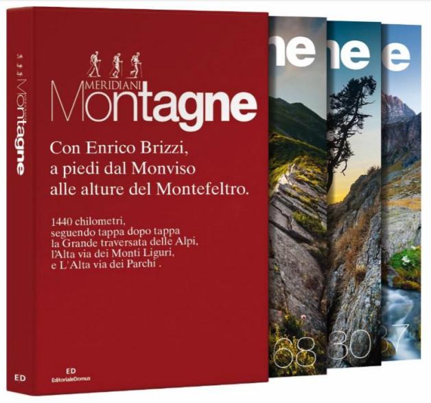 A piedi con Enrico Brizzi su Alpi e Appennini (cofanetto)