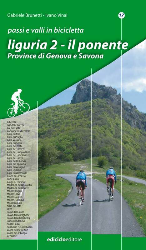 Passi e valli in bicicletta Liguria 2 Il ponente