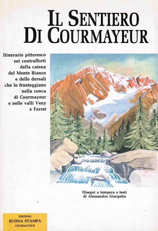 Il sentiero di Courmayeur
