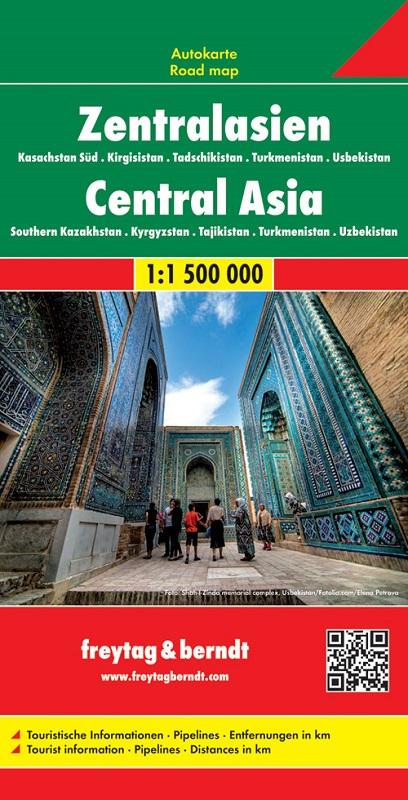 Asia Centrale Kirgizstan, Kazakistan, Tagikistan, Uzbekistan, Turkmenistan