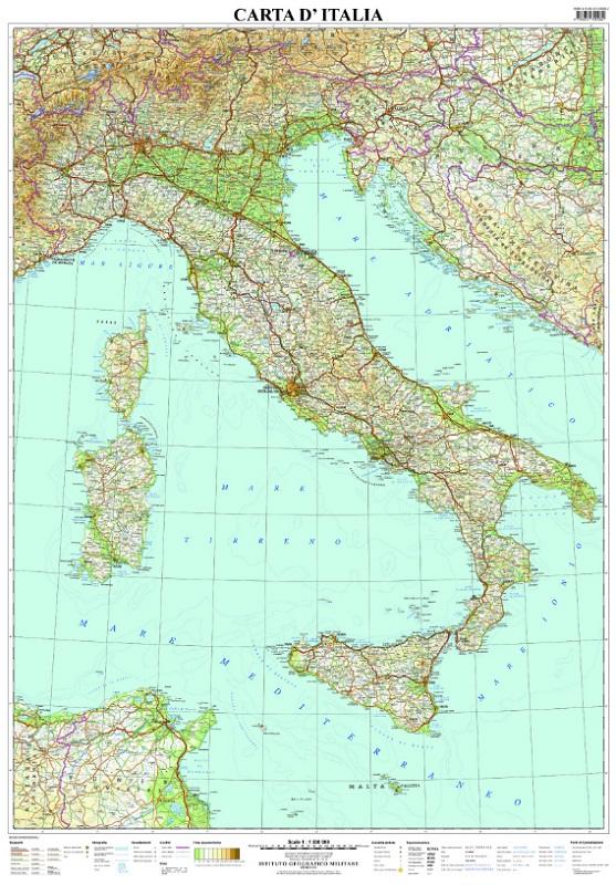 Carta d'Italia (murale)