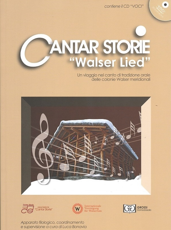 Cantar Storie Walser Lied (Vol.5) + CD