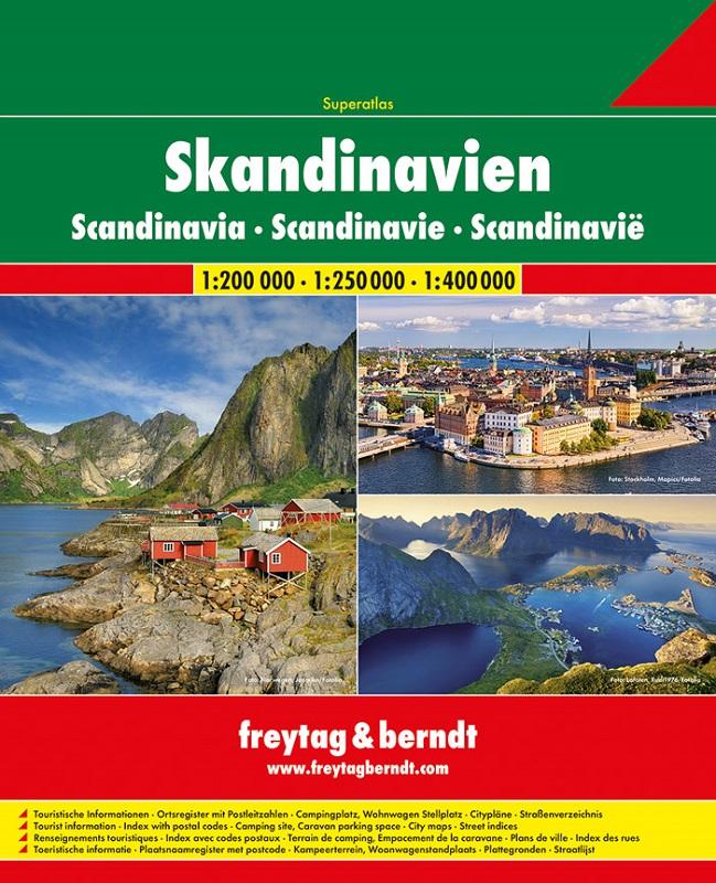 Scandinavia Atlante stradale