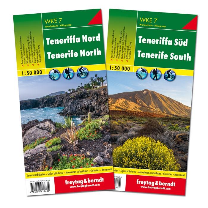 Tenerife nord + sud