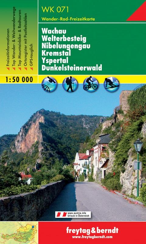 Wachau – Welterbesteig – Nibelungengau – Kremstal – Yspertal – Dunkelsteinerwald