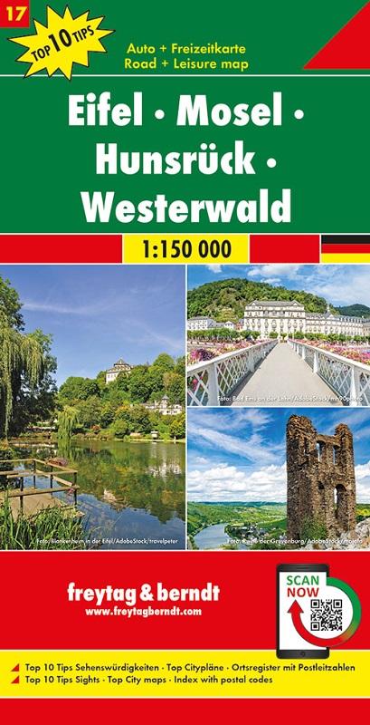 Eifel, Mosel. Hunsrück, Westerwald