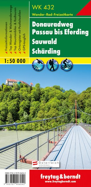 Donauradweg Passau - Eferding - Sauwald - Schärding