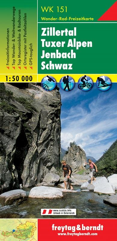Zillertal - Tuxer Alpen - Jenbach - Schwaz
